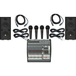 Behringer PMP4000 / VP2520 PA Package (PMP4000VP2520)