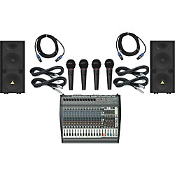 Behringer PMP6000 / VP2520 PA Package (PMP6000VP2520)
