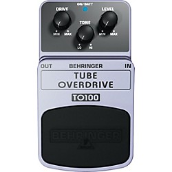 Behringer TO100 Tube Overdrive Guitar Effects Pedal (TO100)
