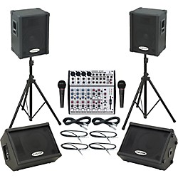 Behringer UB1202 / KPC12P Mains & Monitors Package (UB1202KPC12PMM)