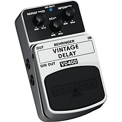 Behringer Vintage Delay VD400 Analog Delay Effects Pedal (VD400)