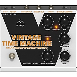 Behringer Vintage Time Machine VM1 Analog Delay/Echo/Chorus/Vibrato Effects Pedal (VM1)