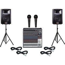Behringer Xenyx X2442USB / Harbinger APS12 PA Package (X2442USB/APS12)