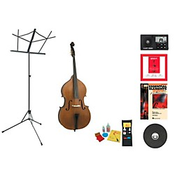Bellafina Model 50 Beginner Student 3/4 Double Bass Bundle (50DB34-123 Kit)