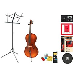 Bellafina Model 50L Beginner Student 4/4 Cello Bundle (50LVC44-123 Kit)