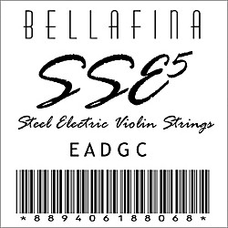 Bellafina SSE Electric Violin String Set (SSE5SET)