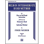 Alfred Belwin Intermediate Band Method Baritone B.C.