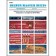 Alfred Belwin Master Duets (Trumpet) Easy Volume 1