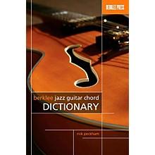 Berklee Press Berklee Jazz Guitar Chord Dictionary
