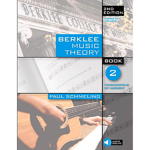 Berklee Press Berklee Music Theory Book 2 (Book/CD) 2nd Edition-thumbnail