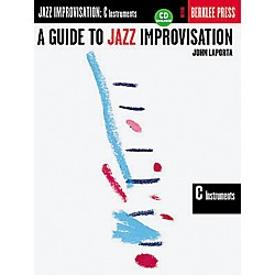 Berklee Press A Guide to Jazz Improvisation C Instruments (Book/CD) (50449439)