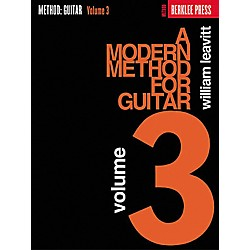 Berklee Press A Modern Method for Guitar - Volume 3 Book (50449420)