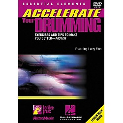 Berklee Press Accelerate Your Drumming (DVD) (320459)