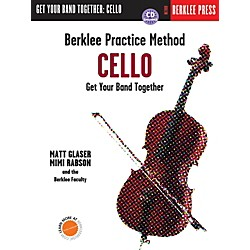 Berklee Press Berklee Practice Method: Cello (Book/CD) (101384)