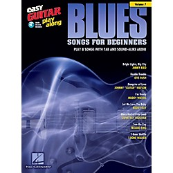 Berklee Press Blues Songs For Beginners - Easy Guitar Play-Along Volume 7 Book/CD (103235)