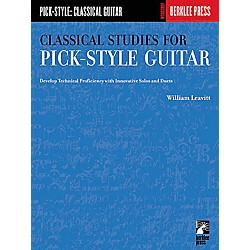 Berklee Press Classical Studies for Pick-Style Guitar - Volume 1 Book (50449440)