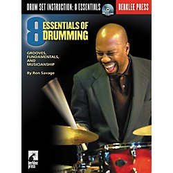 Berklee Press Eight Essentials of Drumming (Book/CD) (50448048)