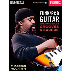 Berklee Press Funk/R&B Guitar - Creative Solos, Grooves & Sounds (Book/CD) (50449569)