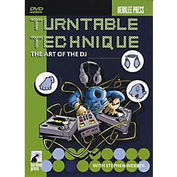 Berklee Press Turntable Technique The Art of The DJ DVD (50448025)