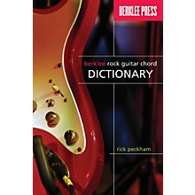 Berklee Press Berklee Rock Guitar Chord Dictionary Berklee Guide Series Softcover Written by Rick Peckham