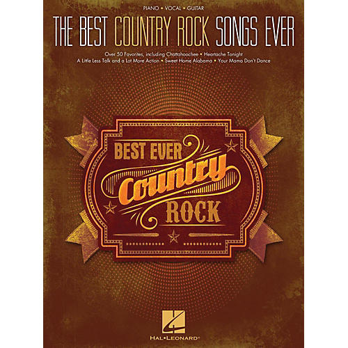 Hal Leonard Best Country Rock Songs Ever Piano/Vocal/Guitar (PVG)-thumbnail