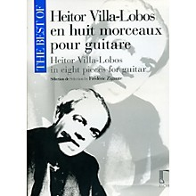 Durand Best Of Heitor Villa-Lobos In Eight Pieces For Guitar