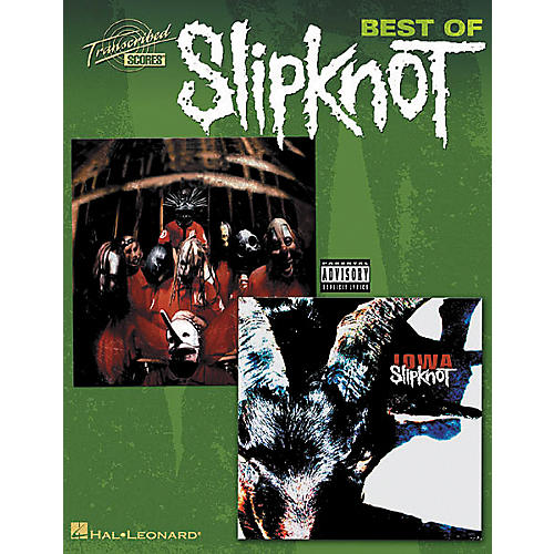 Hal Leonard Best Of Slipknot Guitar Tab Songbook-thumbnail