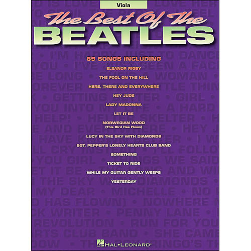 Hal Leonard Best Of The Beatles Viola-thumbnail