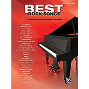 Alfred Best Rock Songs Piano/Vocal/Guitar Songbook