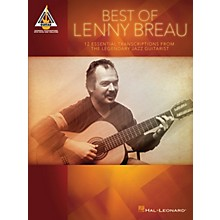 Hal Leonard Best of Lenny Breau Guitar Recorded Version Series Softcover Performed by Lenny Breau