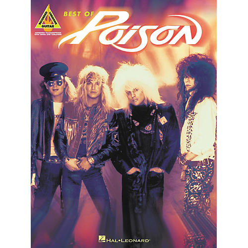 Hal Leonard Best of Poison Guitar Tab Songbook