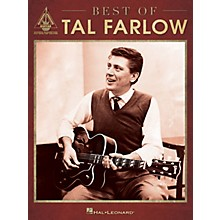 Hal Leonard Best of Tal Farlow Guitar Recorded Version Series Softcover Performed by Tal Farlow