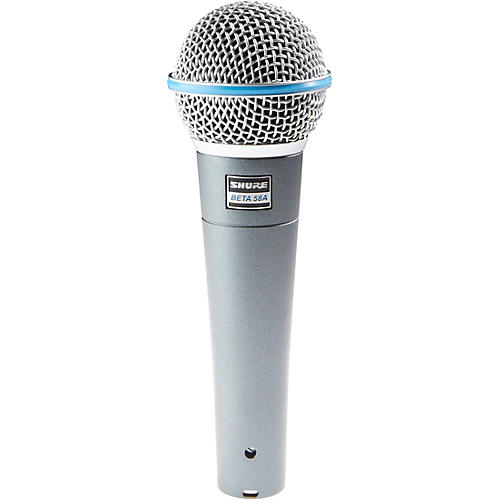 Shure Beta 58A Supercardioid Dynamic Vocal Microphone-thumbnail