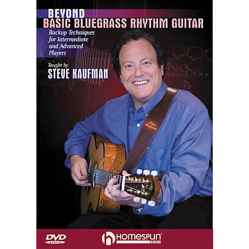 Homespun Beyond Basic Bluegrass Rhythm Guitar (DVD)