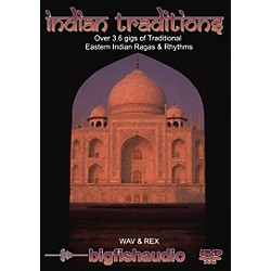 Big Fish Indian Traditions Sound Library (INTR1-RW)