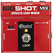 Radial Engineering BigShot MIX Effects Loop Mixer