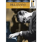 Hal Leonard Bill Evans Live In '64 & '75 Jazz Icons DVD