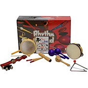 Rhythm Band Bing Bang Boom 10 Player Rhythm Kit with Instructional Interactive DVD by Bradley Bonner