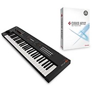 Yamaha Black 61 Key Music Production Synthesizer With Cubase Artist