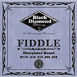 Black Diamond Silver-Plated Fiddle Strings (N719)