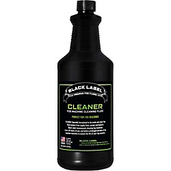 Black Label Cleaning Fluid For Fog Machines - 1 Quart (Cleaner)