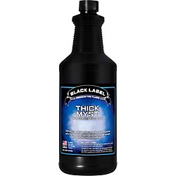 Black Label Thick Myst High Density Fog Juice - 1 Quart (Thick Myst 1q)
