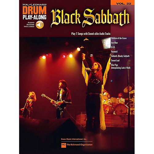 Hal Leonard Black Sabbath - Drum Play-Along Volume 22 Book/CD-thumbnail