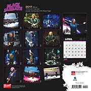 Browntrout Publishing Black Sabbath 2017 Bravado Calendar