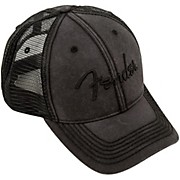Fender Blackout Trucker Hat