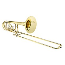 S.E. SHIRES Blair Bollinger Bass Trombone with Axial-Flow F/Flat G Attachment