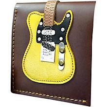 Axe Heaven Blonde Electric Guitar Wallet - Handmade - Genuine Leather