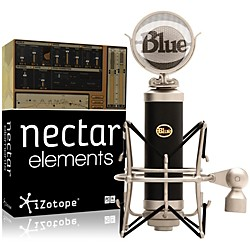 Blue Baby Bottle Mic with Nectar Elements Bundle (BabyBottle NectarElem Bun)