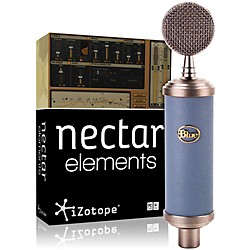 Blue Bluebird Mic with Nectar Elements Bundle (Bluebird NectarElem Bundl)