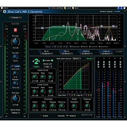 Blue Cat Audio MB-5 Dynamix Multiband Processor (1035-275)